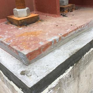 Укрепване и замонолитване на стоманобетонови и метални конструкции